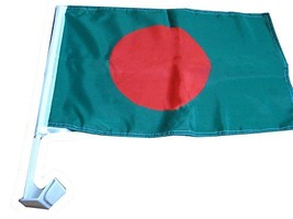 ALBATROS 12 in x 18 in Pack of 12 Bangladesh Country Car Vehicle Flag fo... - $131.27