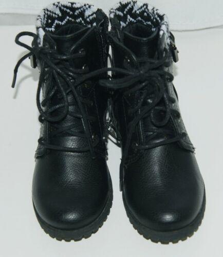 Arizona Jeans Company 6036002 Girls Ankle Boot Size 12 M AZ Lawton Black