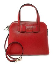 NWT Kate Spade Maise Red Carpet Leather Crossbody Satchel WKRU4027 Retail - $252.90 CAD