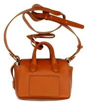 J Crew Harper Mini Satchel Handbag in Italian Leather Burnished Pecan J9604 - $105.80