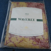 Waverly Red/Yellow/Gold Spice Petite Ferme French Country Rooster Euro SHAM - $22.00