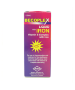 Becomplex Liquid Multivitamin Syrup with Iron - $18.32