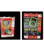 Ritz Bits Sandwiches Peanut Butter Marvel Incredible Hulk Trading Card 2003 - $14.99