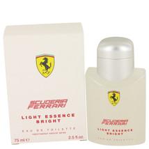 Ferrari Scuderia Light Essence Bright Cologne 2.5 Oz Eau De Toilette Spray image 1