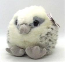 Swoop Joe Falcon Puffkins Bean Bag Plush with Tags Swibco 6664 AFA Mascot - $11.87