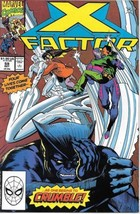 X-Factor Comic Book #59 Marvel Comics 1990 Very FINE- New Unread - $1.99
