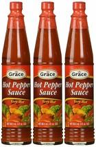 Grace Hot Pepper Sauce 3oz Pack of 3 - $9.89