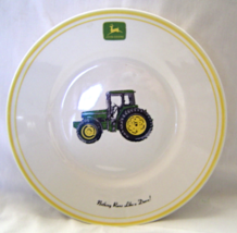 John Deere Tractor Collector Bowl Gibson Nothing Runs Like A Deere Yello... - $9.99