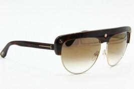 New Tom Ford Liane Tf 318 52G Havana Gradient Authentic Sunglasses TF318 62-14 - $171.11