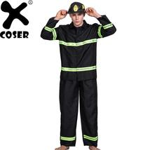 Brand New Arrival Men Firefighter Cosplay Costume Suit 2019 Halloween Pa... - $70.25