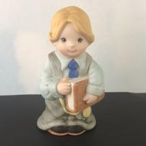 Wallace Berries Let's Pretend Ceramic Figurine Little Lawyer #8567 - $14.80