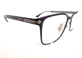 GUCCI Men's Optical Frame GG0070O TITANIUM Black 54-19-140 MADE IN JAPAN... - $285.00