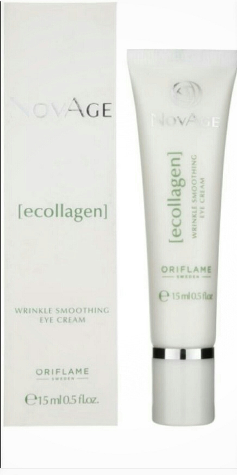 Primary image for Ecollagen Wrinkle Power Eye Cream, NovAge Oriflame, 15ml