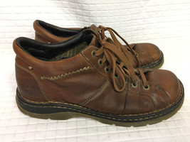 Men's DR MARTENS 12083 Lace To Toe Brown Leather Boot US 12 Chukka UK 11 - $29.45