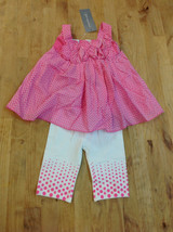 First Impressions Baby Girls' 2-Piece Printed Tank & Leggings Set, Size 6-9M - $15.83