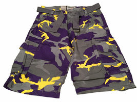 Men's Tactical Combat Military Army Cotton Twill Camo Cargo Shorts With Belt image 11