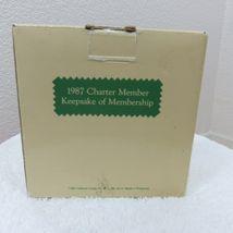 Vintage 1987 Hallmark Keepsake Ornament Wreath of Memories in Original Box image 3