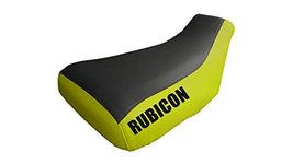 Honda Rubicon 500 Logo Yellow Sides Seat Cover Year 2005 To 2011 - $49.99