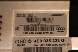 Audi A8 Radio Stereo Receiver Audio Amplifier Amp 4E0-035-223G BOSE 373014-003 image 9