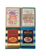 4 Chronicle Books Little Cookbooks English Tea,  Mexican, Italian, Spanish - $15.98