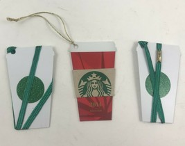 STARBUCKS Mini Frappuccino & Holiday Cup Sleeve Gift Cards No Value 2014... - $11.29