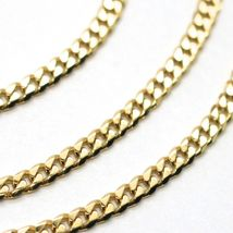 Chain Yellow Gold 750 18K, 50 CM, Groumette Flat, Thickness 2.8 MM, Full image 5