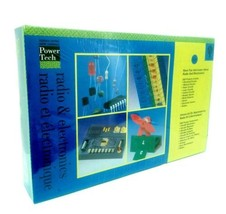 Tree Of Knowledge Power Tech  Radio & Electronics Kit New Sealed - $70.13