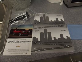 2019 Chevy Tahoe/Suburban Owner's Manual with Microfiber Cloth - $34.64