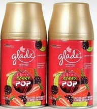 2 Glade 6.2 Oz Limited Edition Berry Pop Strawberry Dewberry Lime Spray Refill - $22.99