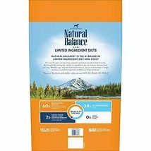 Premium Natural Balance Limited Ingredient Diets High Protein Dry Dog Food... - $73.85