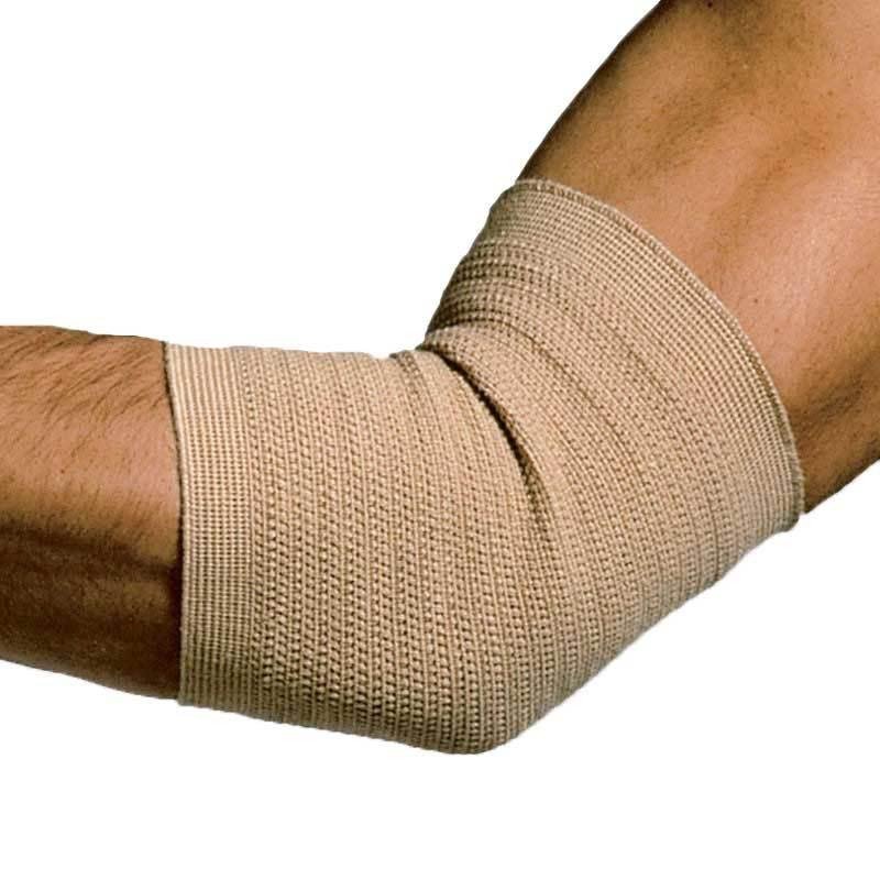 Slip on elastic elbow brace 0 large