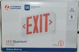 Lithonia Lighting 388066 Contractor Select LED Quantum Exit Sign image 6