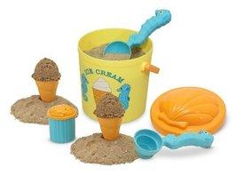Melissa & Doug Speck Seahorse Sand Ice Cream Set - $15.18