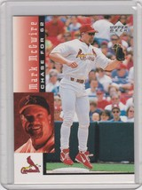 1998 Upper Deck Chase for 62 Box Set Base #28 Mark McGwire - $1.00