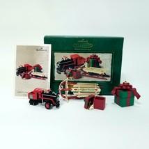HALLMARK KEEPSAKE Ornament - Christmas Morning Treasures - 2002 - $12.59