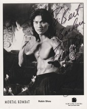 "Robin Shou Signed Autographed ""Mortal Kombat"" Glossy 8x10 Photo Personalized COA - $34.99"