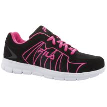 Women's Fila Escalight Running Shoe Black Size 6.5 #NKCAB-716 - €30,11 EUR