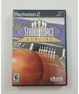 Strike Force Bowling PS2 Game 2004 Crave Playstation 2 - $4.99
