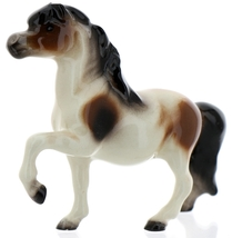 Hagen-Renaker Miniature Ceramic Horse Figurine Calico Pony Leg Up image 9