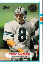 2001 Topps Archives Troy Aikman Football Trading Card #55 Dallas Cowboys - $1.97