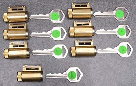 Practice Lock Intro Set - 7 Progressively Pinned KIK Cylinders - $58.70
