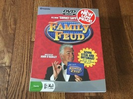 """Family Feud DVD Game All New """"Survey Says"""" Questions John O'Hurley Imagi... - $14.01"""