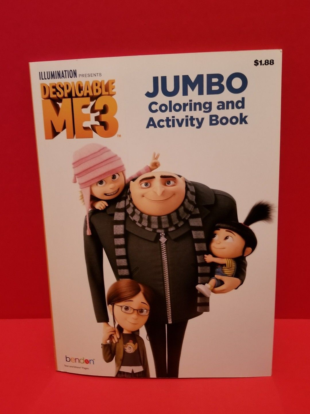 Despicable Me Jumbo Coloring Activity Book And 50 Similar Items
