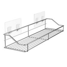 MAPUX Bathroom Shelf Organizer Storage Kitchen Rack with Traceless Trans... - $23.57