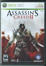 Assassin's Creed II (Microsoft Xbox 360, 2009, w/ Manual, Xbox One Compatible)  - $5.85