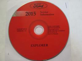 2015 Ford Explorer SUV Truck Workshop Service Shop Repair Manual ON CD NEW OEM - $277.15