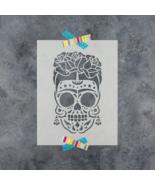 Sugar Skull Frida Stencil - Durable & Reusable Mylar Stencils - $5.99+