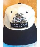 Miller Genuine Draft Fiber Optic Snapback Hat Baseball Cap Light Up 9V - $63.03