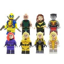 Colossus Deadpool Medusa Crystal Marvel X-men Etc Fit Lego Minifigure Ch... - $13.99