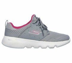 Skechers Gray Pink shoes Women's Sport Go Run Athletic Mesh Comfort Casual 15162 image 2
